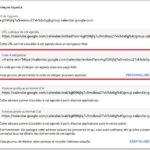 Sélection du code iframe d'intégration d'un agenda Google