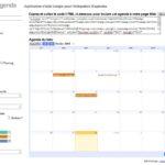 Personnalisation des options d'intégration d'un agenda Google